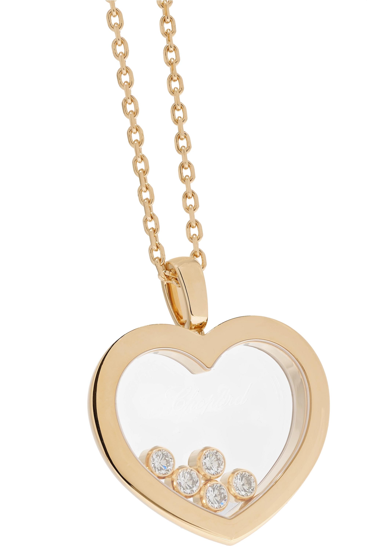 Chopard + NET SUSTAIN Happy Diamonds 18-karat gold diamond necklace