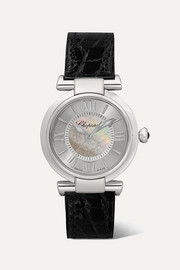 Imperiale Automatic 29mm stainless steel, alligator and mother-of-pearl watch