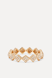 OFIRA Tattoo 18-karat gold diamond ring