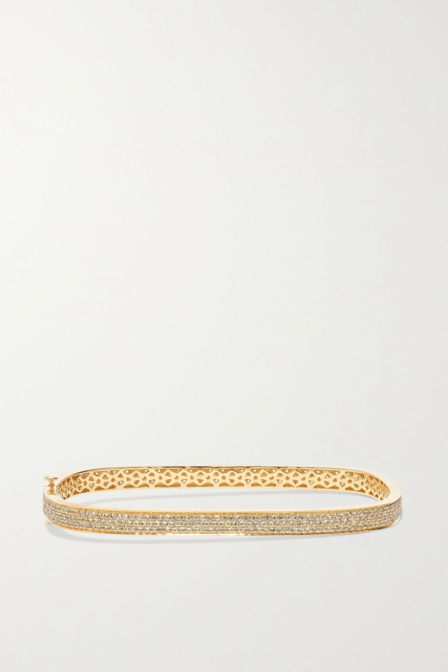OFIRA Bracelet en or 18 carats et saphirs Geo