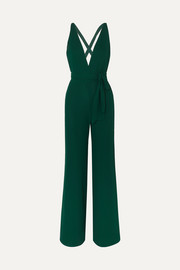 Reformation Sofi georgette jumpsuit