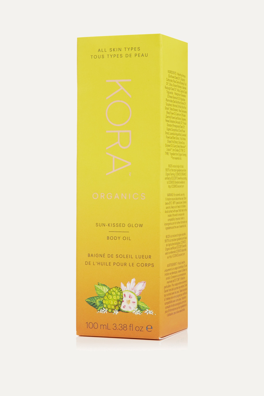 KORA Organics Sunkissed Glow Body Oil, 100ml
