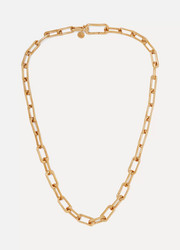 Monica Vinader Alta Capture gold vermeil charm necklace