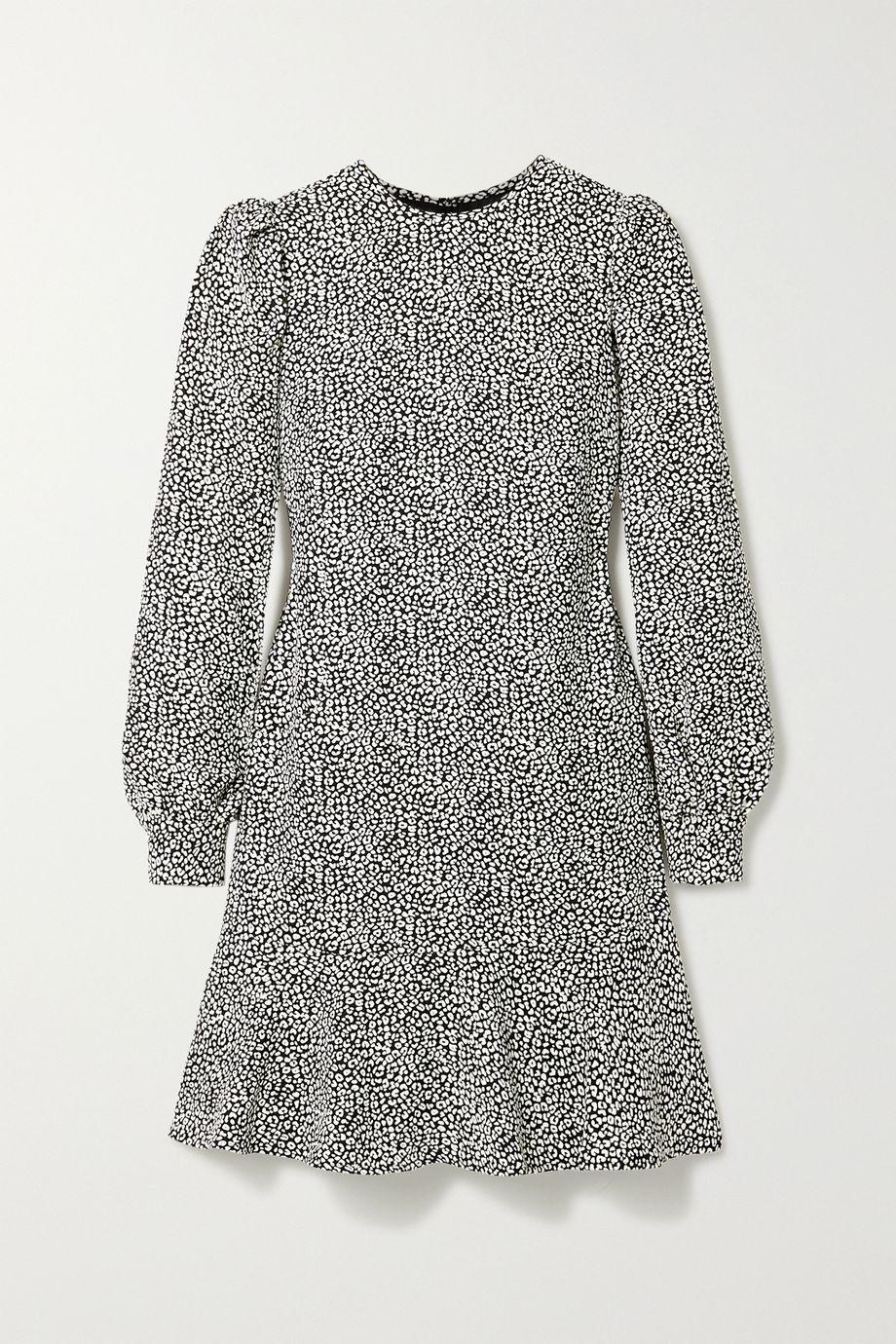 MICHAEL Michael Kors Leopard-print crepe mini dress