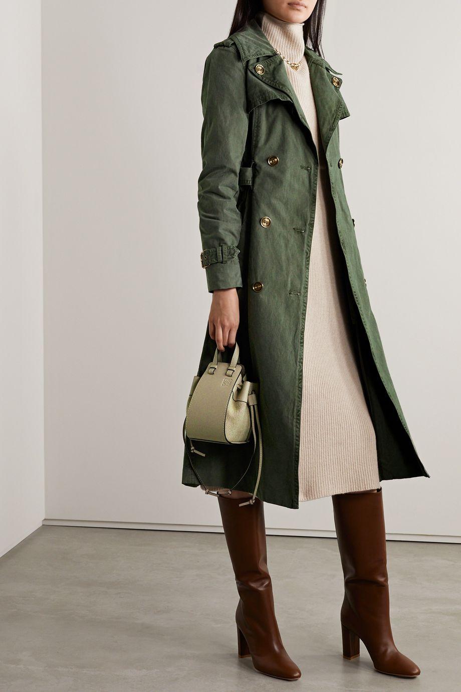 MICHAEL Michael Kors Madi cotton-gabardine trench coat