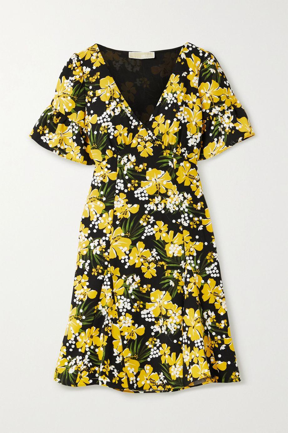 MICHAEL Michael Kors Floral-print crepe mini dress