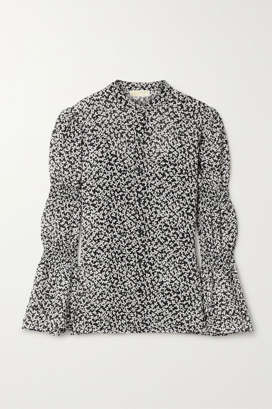 MICHAEL Michael Kors Floral-print georgette blouse