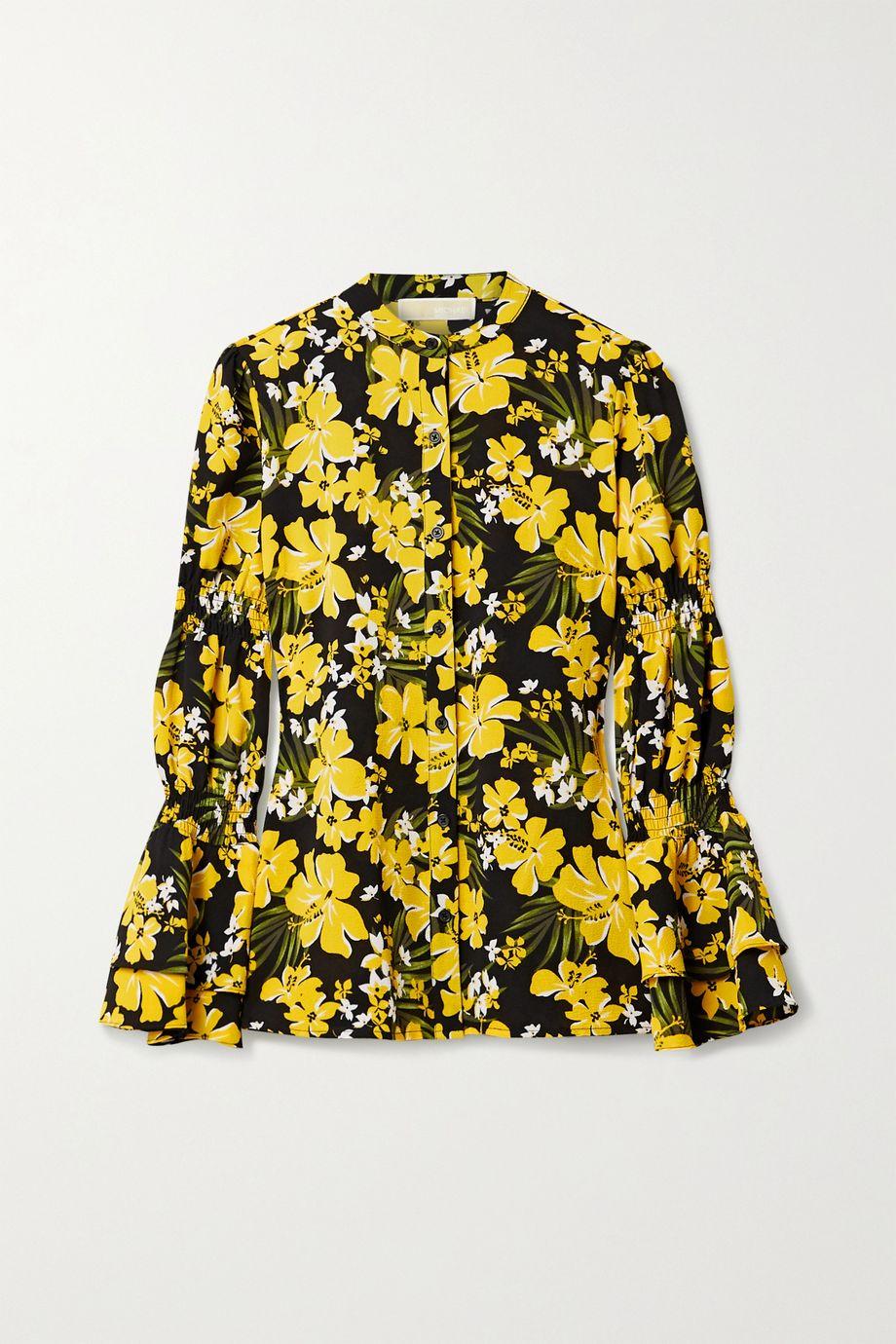 MICHAEL Michael Kors Bold Bliss floral-print crepe blouse