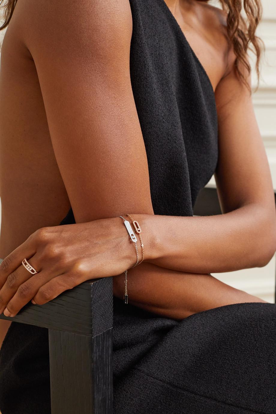 Messika My First Diamond 18-karat white gold diamond bracelet