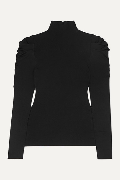 Alice And Olivia Tops Cece ribbed-knit turtleneck sweater