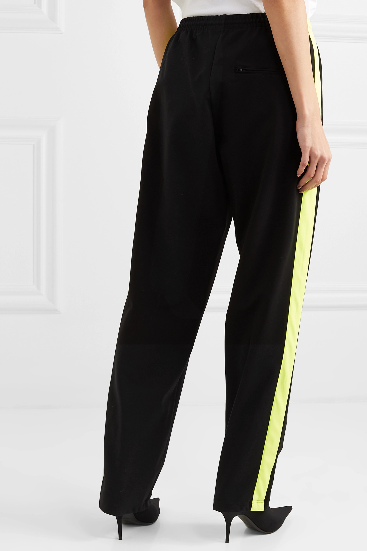 Balenciaga Pantalon de survêtement en jersey stretch à rayures