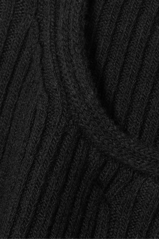 Balenciaga Ribbed-knit top