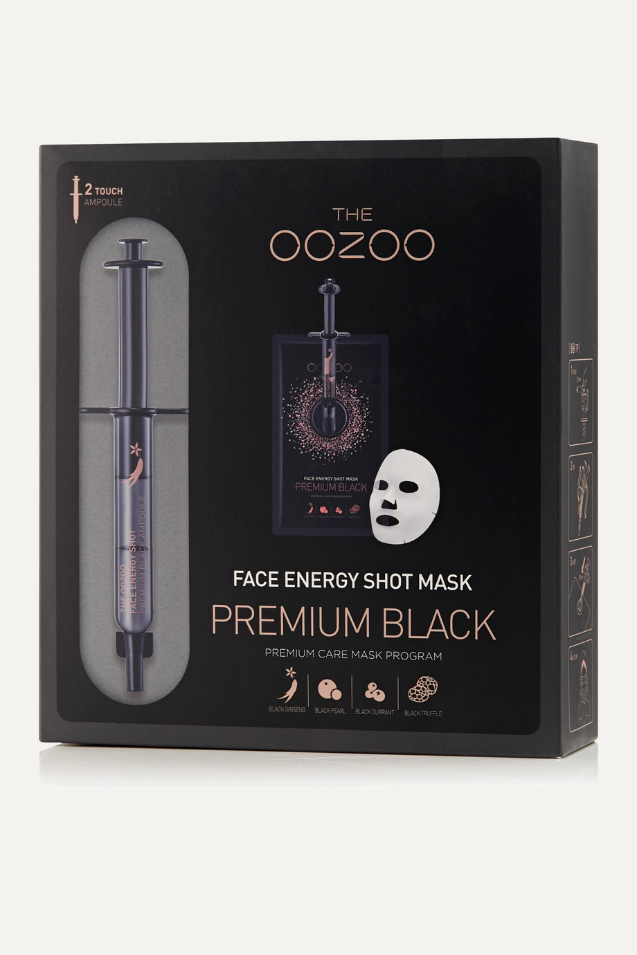 THE OOZOO Face Energy Shot Mask x 5