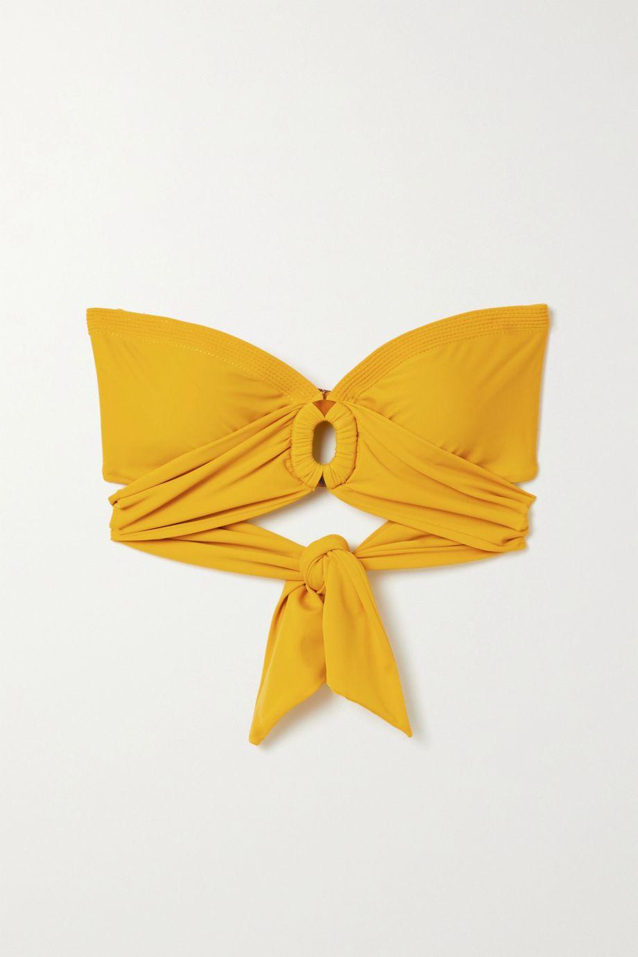 Johanna Ortiz Mar Chocoano bikini top