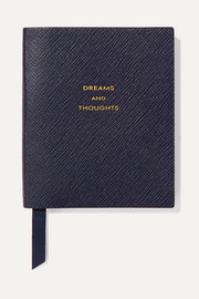 Smythson Panama Dreams and Thoughts Notizbuch aus strukturiertem Leder