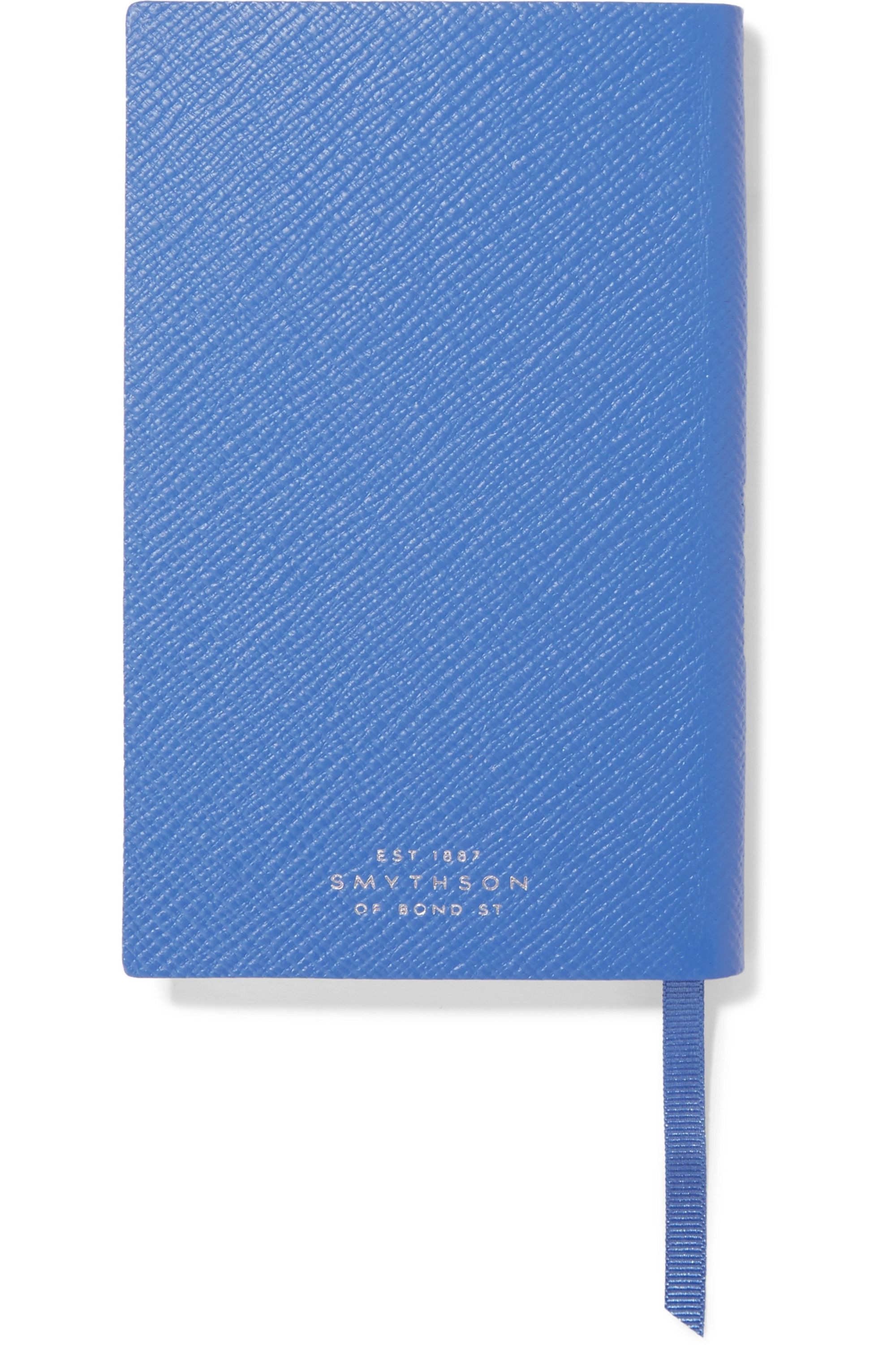 Smythson Panama Travels and Experiences Notizbuch aus strukturiertem Leder