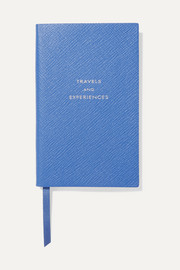 Panama Travels and Experiences textured-leather notebook