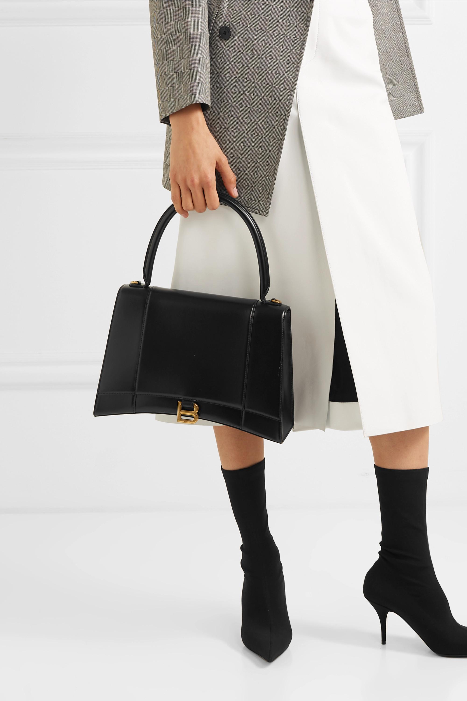 Balenciaga Hourglass medium leather shoulder bag