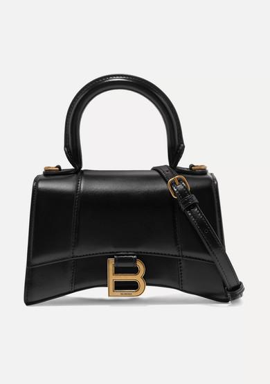 Balenciaga Shoulder Hourglass XS leather shoulder bag