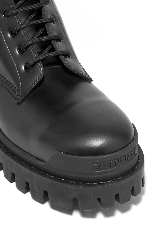 Balenciaga Strike leather ankle boots
