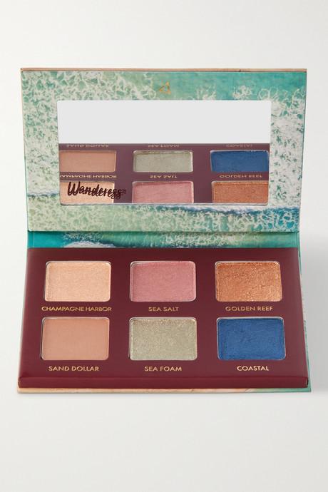 Blue Wanderess Seascape Eyeshadow Palette | Wander Beauty ekrSuu
