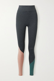 We Over Me The Synergy color-block stretch-jersey leggings