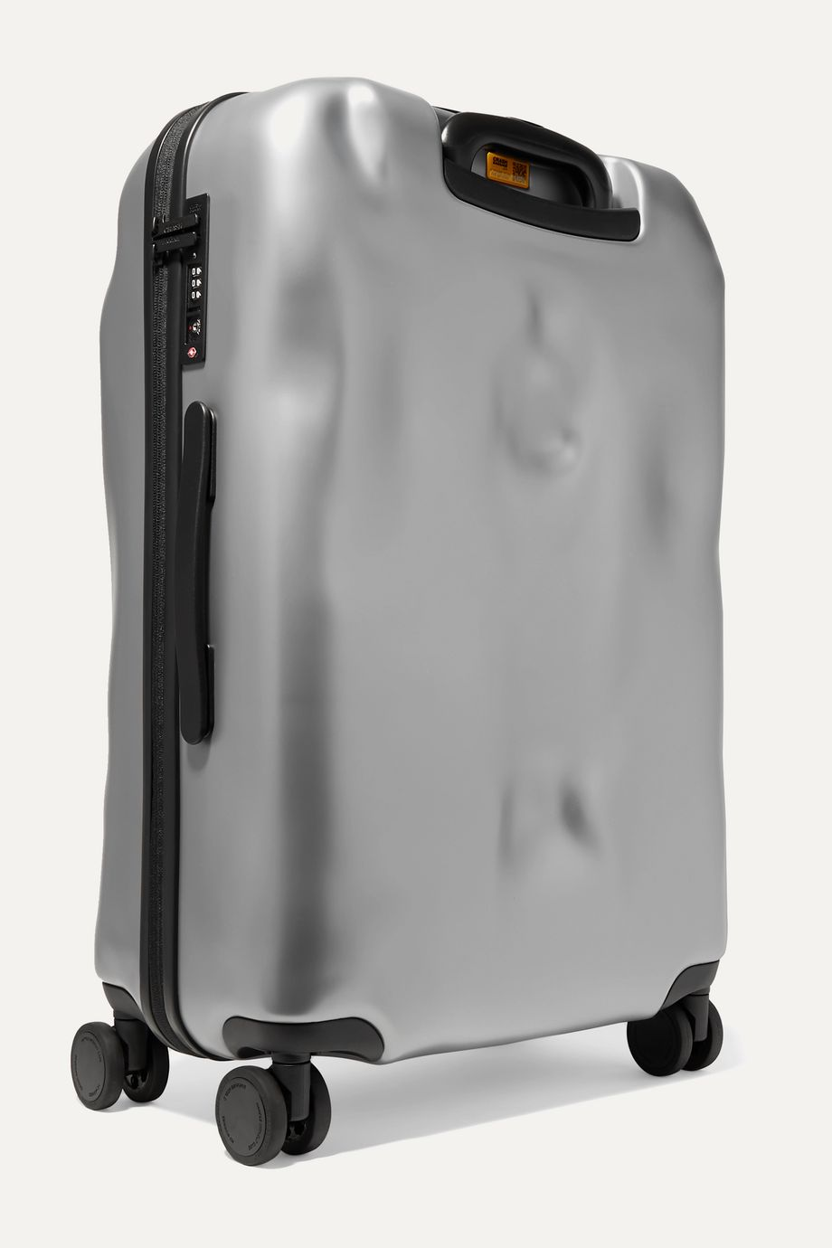 Crash Baggage Icon Medium metallic hardshell suitcase