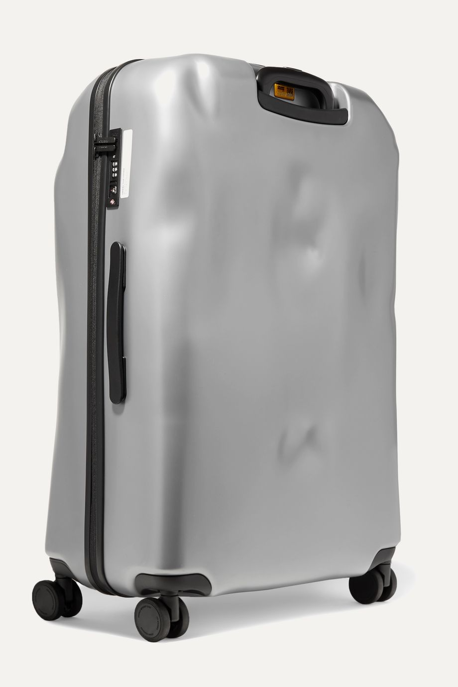 Crash Baggage Icon Large metallic hardshell suitcase
