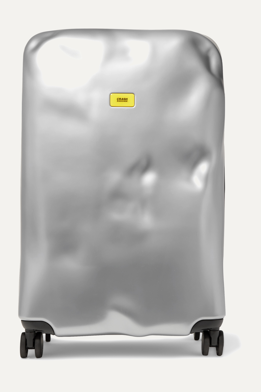 Crash Baggage Icon Large metallic hardshell suitcase