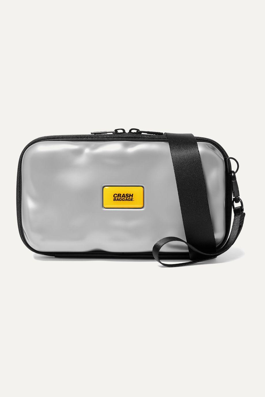 Crash Baggage Icon Mini metallic hardshell pouch