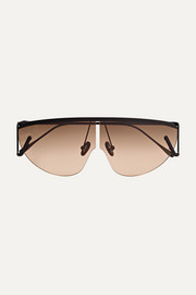 Air D-frame metal sunglasses