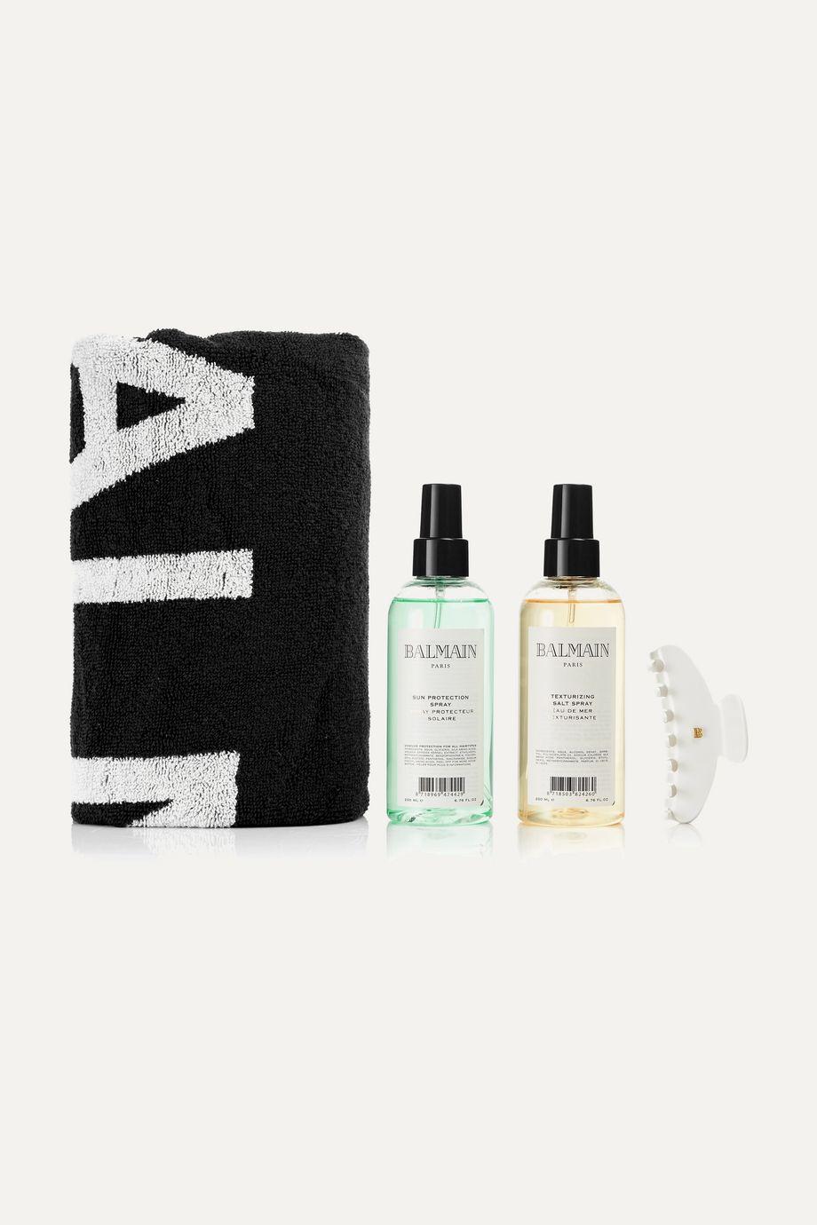 Balmain Paris Hair Couture Texture + Towel Gift Set