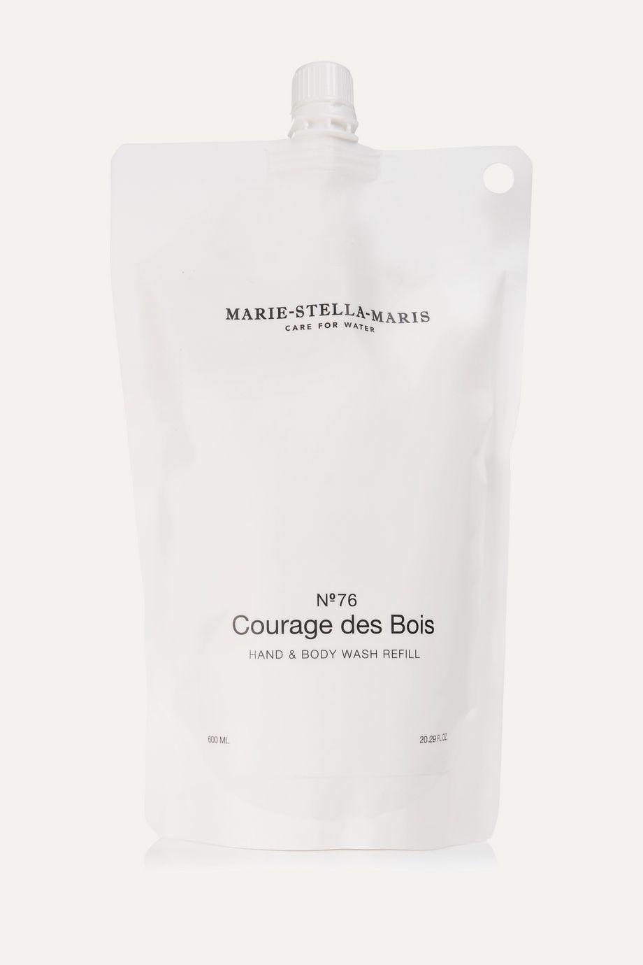 Marie-Stella-Maris Hand & Body Wash – Courage des Bois Refill, 600 ml – Nachfüll-Flüssigseife