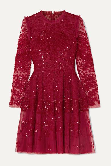 Tulle Mini Dress