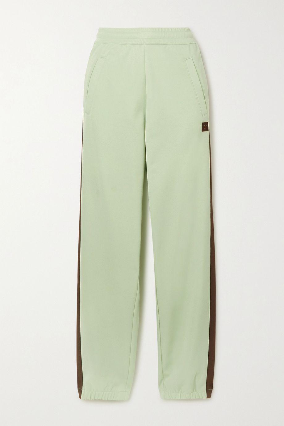 아크네 스튜디오 '페이스' 트레이닝 팬츠 - 민트 Acne Studios Jersey track pants,Mint
