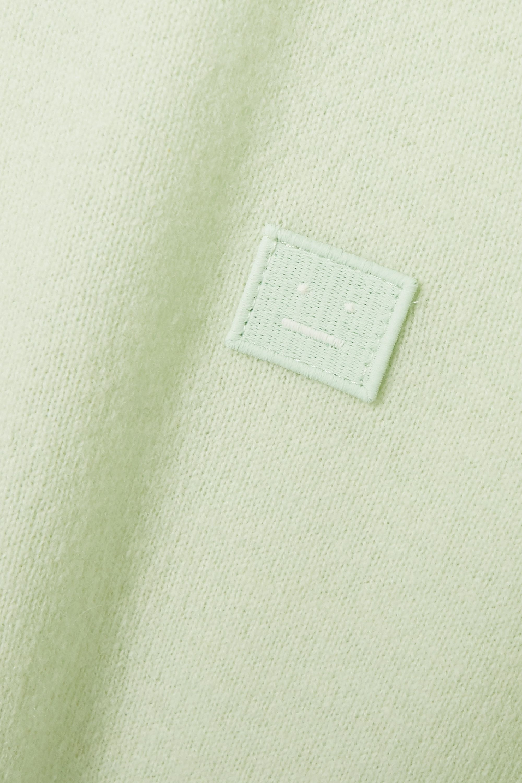 Acne Studios Appliquéd wool sweater