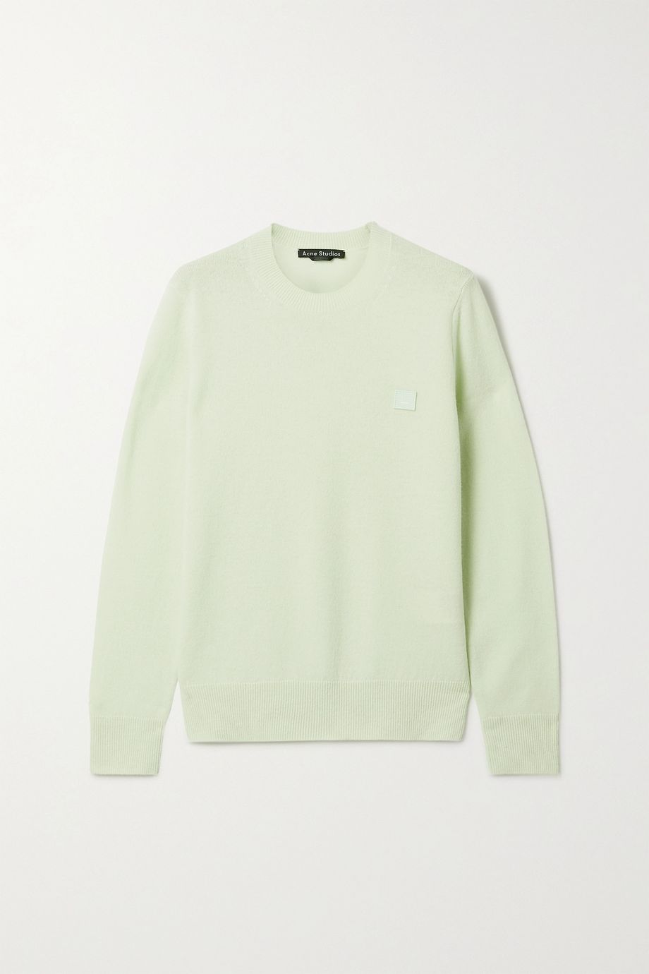 Acne Studios Appliquéd wool sweater