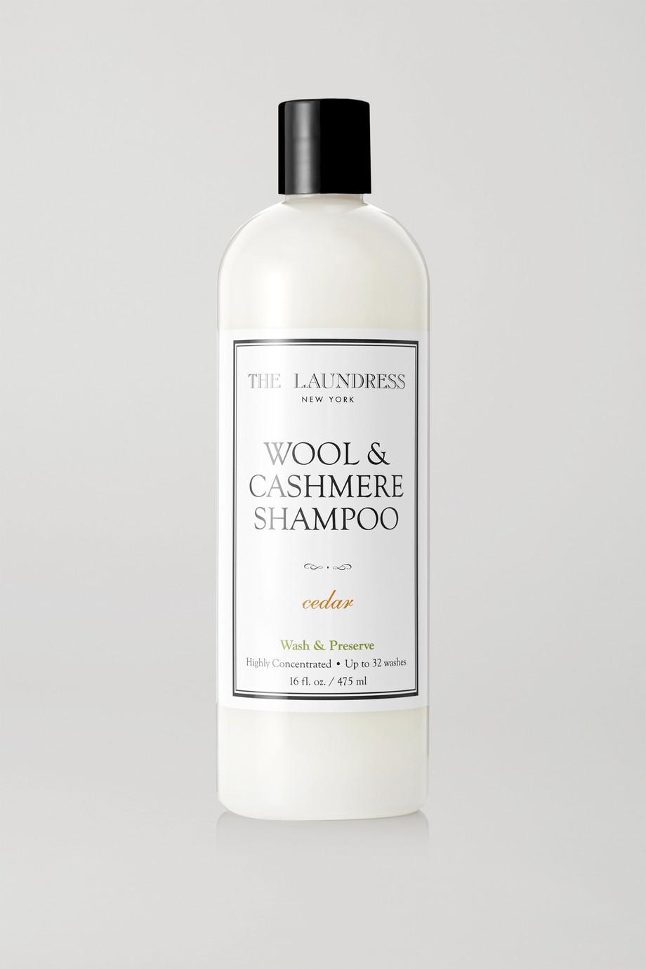 The Laundress 羊毛和羊绒衣物护理液 - 雪松,475ml