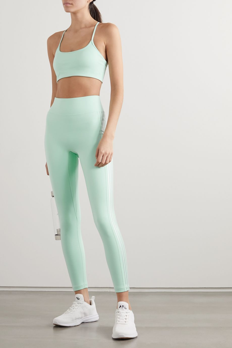 All Access Set List striped stretch leggings