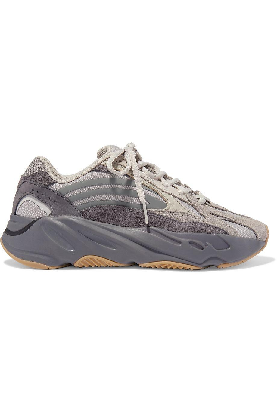 adidas Originals Baskets en daim, résille et cuir Yeezy Boost 700 V2