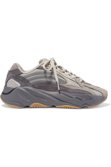 Yeezy Boost 700 V2 Mesh, Suede And Leather Sneakers by Adidas Originals