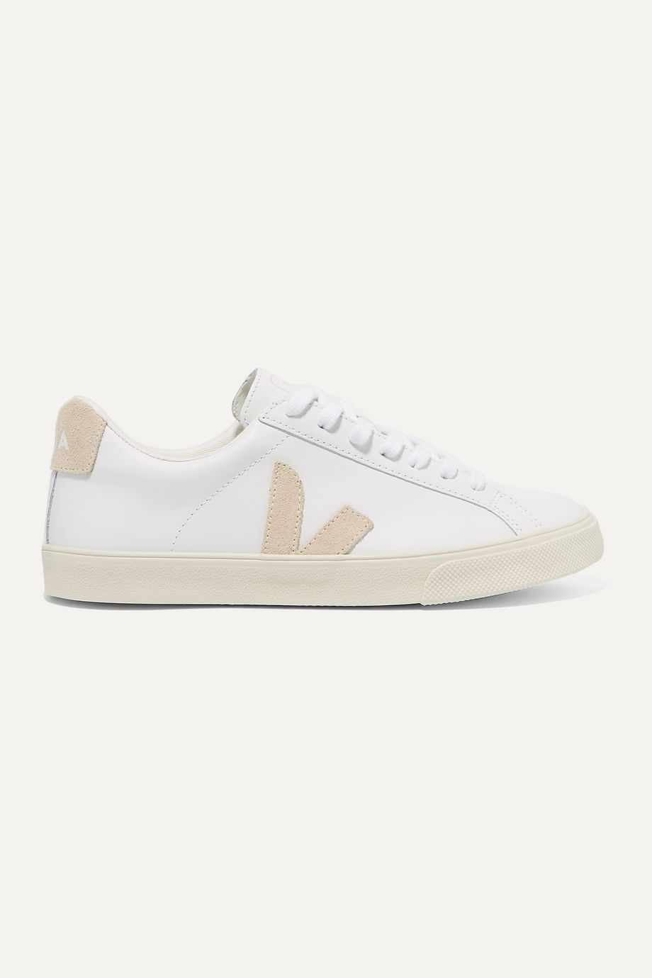Veja + NET SUSTAIN Esplar leather and suede sneakers