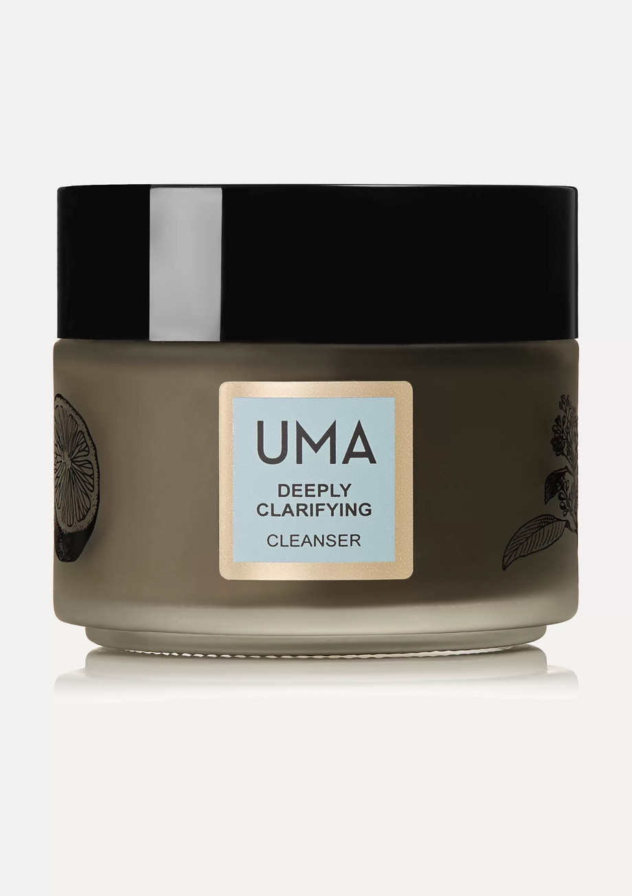 UMA Oils + NET SUSTAIN Deeply Clarifying Neem Charcoal Cleanser, 100ml