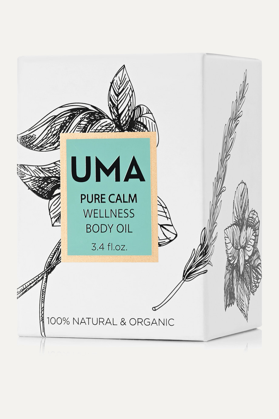 UMA Oils + NET SUSTAIN Pure Calm Wellness Body Oil, 100ml