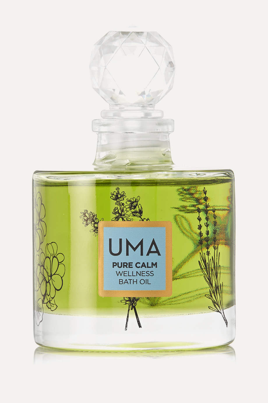 UMA Oils + NET SUSTAIN Pure Calm Wellness Bath Oil, 100ml