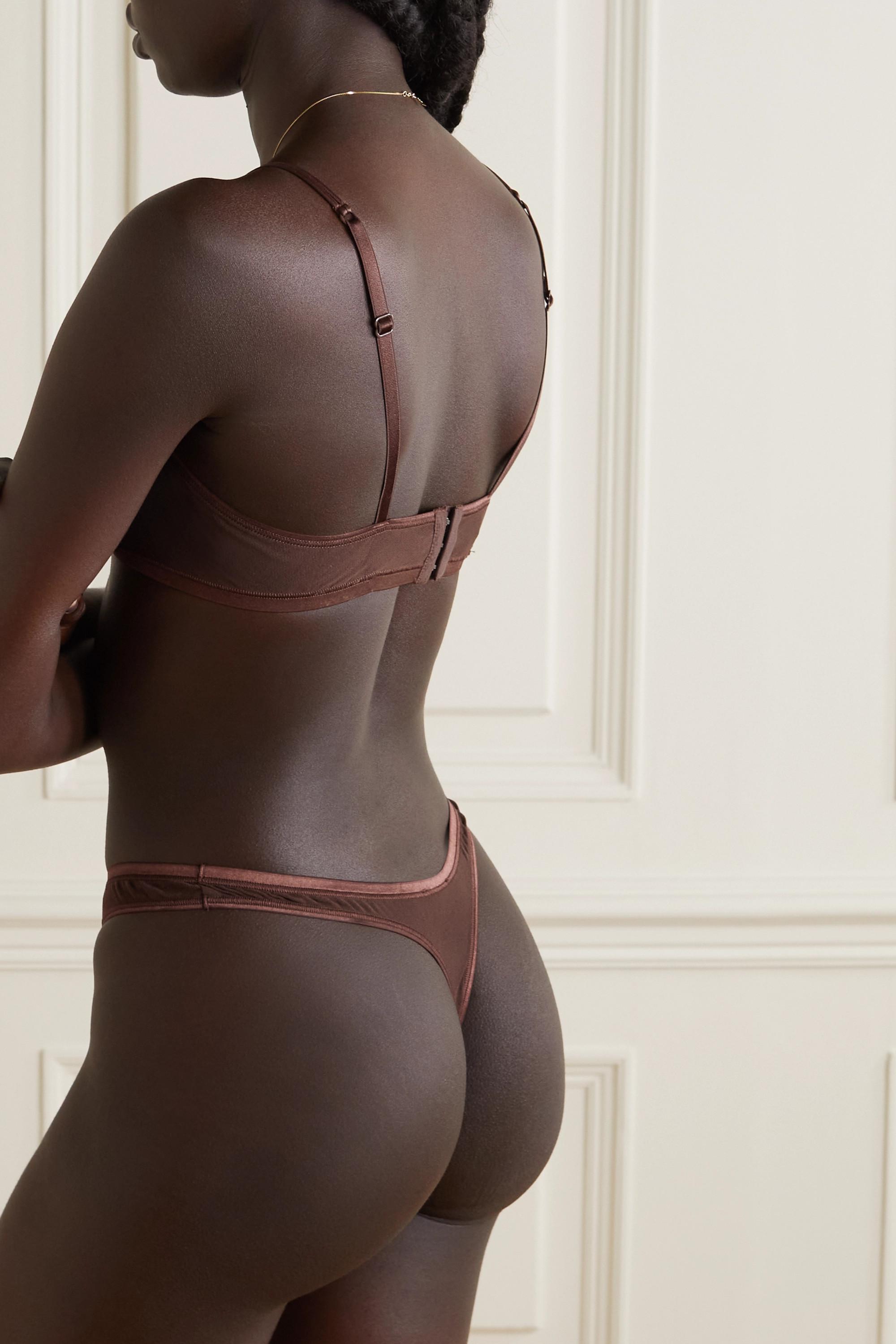 Cosabella Soiré Confidence mesh underwired soft-cup bra