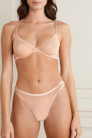 Cosabella Soiré Confidence mesh underwired soft-cup bra