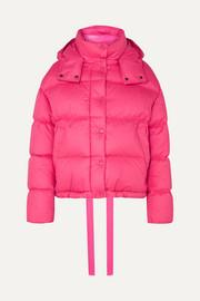 몽클레어 Moncler Hooded quilted cotton down jacket