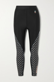 P.E NATION Dominion printed stretch leggings