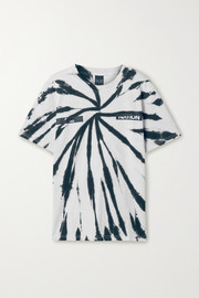 P.E NATION Real Challenger tie-dyed cotton T-shirt